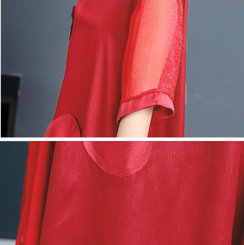 0152 Chinese Style Elegant Dress Women For Wedding Party Long Summer Solid Short Sleeve High Quality Runway Dresses In Women in Dresses from Women 39 s Clothing