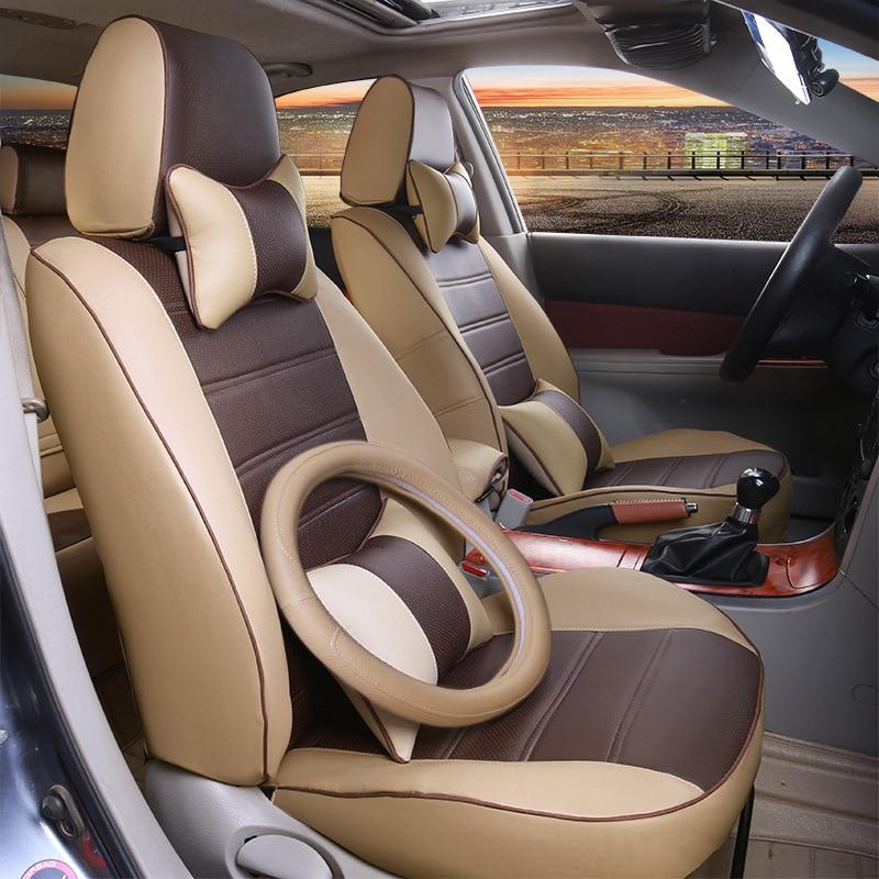 TO YOUR TASTE auto accessories custom luxury leather car seat cover for VW C TREK scirocco R multivan Magotan Variant hot sale