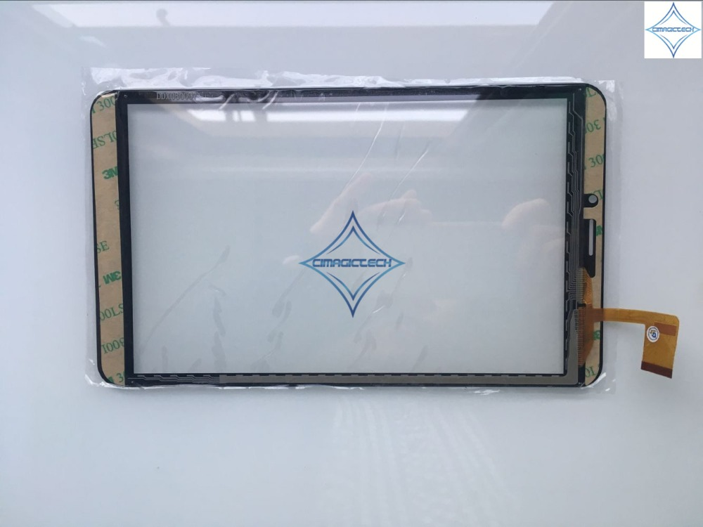 Image 3 - new 8 inch Touch Screen digitizer capacitive panel glass lens  ZYD080 64V01 ZYD080 64V02 w801 204*119MM 51pininch touch screentouch  screen digitizertouch screen