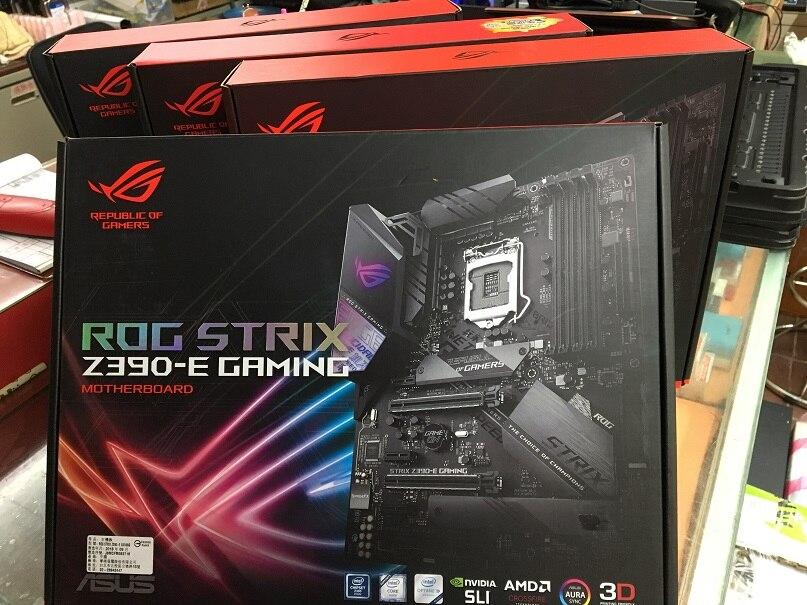 ASUS STRIX Z390-E GAMING Desktop Electromechanical Game Computer Motherboard 1151 Pin