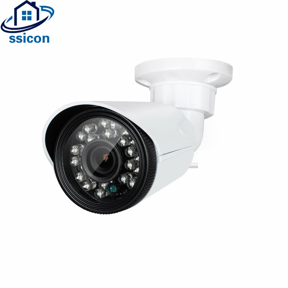 SSICON Outdoor Bullet Security Camera Waterproof Full HD 2.0 Megapixel IP CCTV Cam wistino cctv camera metal housing outdoor use waterproof bullet casing for ip camera hot sale white color cover case