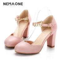 2017 New Fashion High Heel Women S Pumps Summer Rouned Toe Female Wedding Shoes Ladies Single