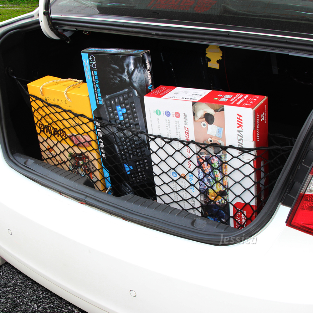 Universal Envelope Style Trunk Cargo Net For VW Polo Ford