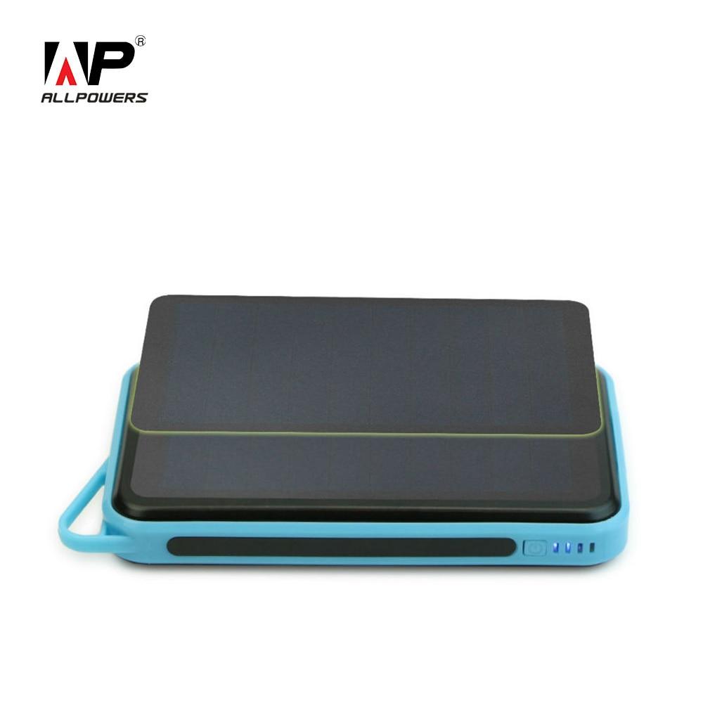 imágenes para ALLPOWERS 15000 mAh Cargador Solar Banco de la Energía Solar Solar Serie de Batería Externa para el iphone iPad Samsung Nokia HTC LG Nokia etc.