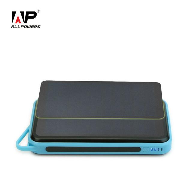 Allpowers 15000 mah solar power bank solar série carregadores de bateria externa para iphone ipad samsung htc nokia e muito mais.