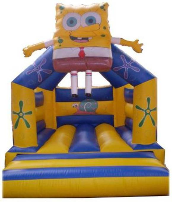 inflatable bouncy castle fun