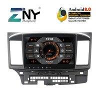 4GB 10.1 IPS Android 8.0 Car Stereo For Mitsubishi Lancer 2007 2008 2009 2010 2011 2012 Radio GPS Navigation Rear Camera No DVD