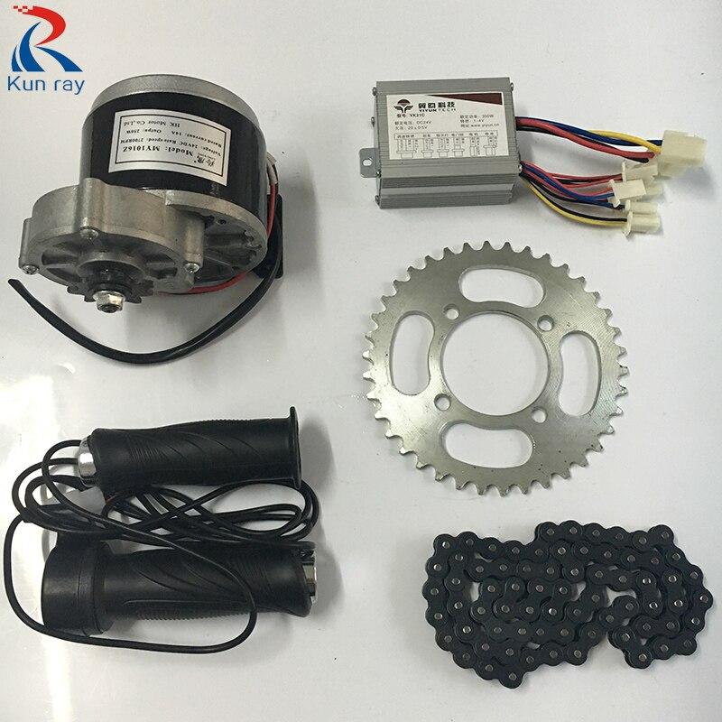 Lingying My1016z 24v 36v Dc 350w Brushed Motor Kit With