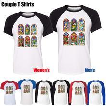 Fashion Game The Legend of Zelda Design Printed T-Shirt Men's Boy's Graphic Tops Blue or Black Sleeve