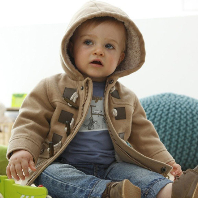 New 2015 baby Boys Children outerwear coat fashion kids jackets for Boy girls Winter jacket Warm hooded children clothing