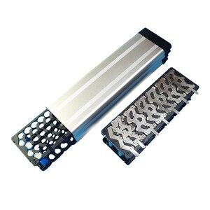 Image 5 - 36V 10Ah akumulator do rowerów elektrycznych case dla majsterkowiczów akumulator litowy 24V 36V 48V box z bezpłatnym 5*13 uchwyt i czysty nikiel