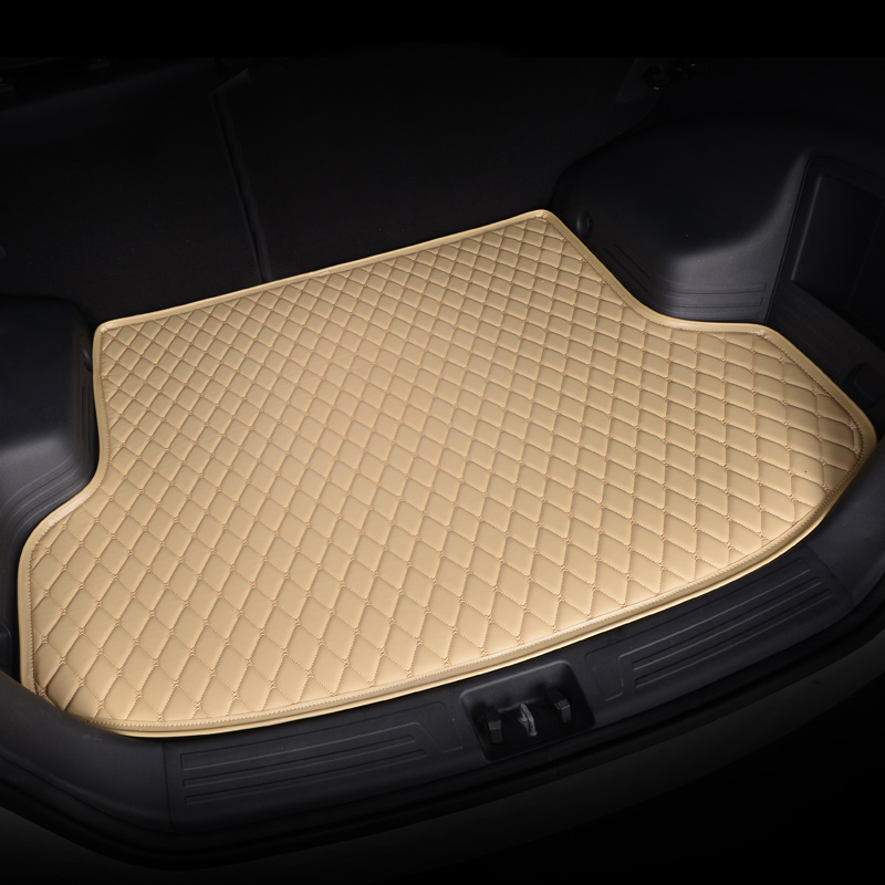 HeXinYan Custom Car Trunk Mats for Porsche All Models Cayman Macan Cayenne Panamera Boxster auto styling car accessories