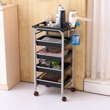 Storage rack for simple handcart manicure and hairdressing tool car
