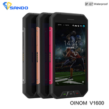 Новые оригинальные Oinom V1600 IP68 Quad сердечники 2 ГБ Оперативная память 16 ГБ Встроенная память 4.7 дюймов 4 г LTE Android 5.1 8.0MP 3000 мАч Водонепроницаемый телефон lmv9 S6