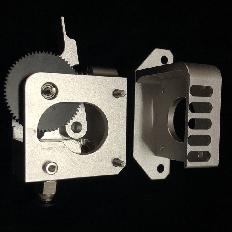 New 3D printer Prusa i3 extruder compatible with E3D Titan Aero MK2 printer extrusion full metal CNC technology image