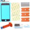 Painel de toque de lente de vidro exterior para apple iphone 6 6g 6 s 4.7 polegada tela de vidro Da Frente substituição repair kit Loca cola UV