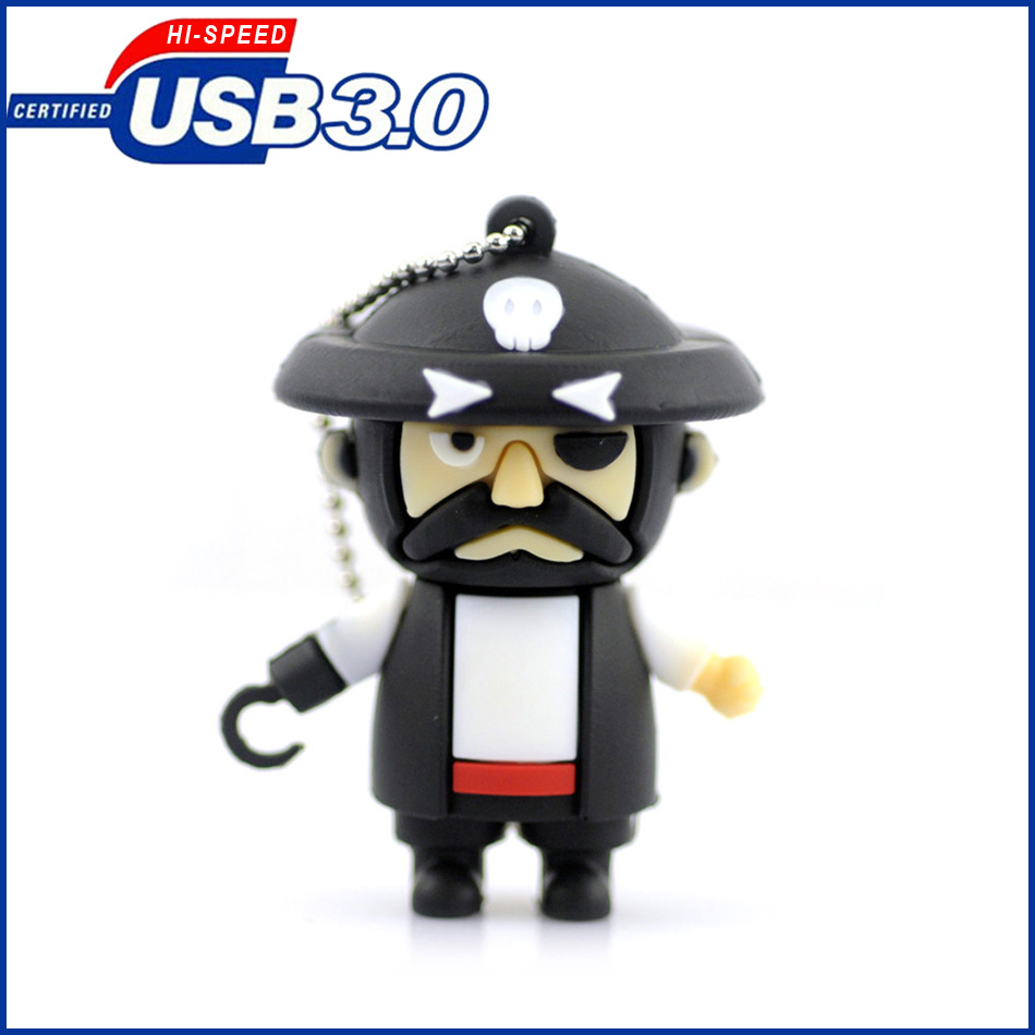 High speed usb 3.0 flash drive,64GB Pirate usb flash drive memory pendrive stick 32GB/16 ...