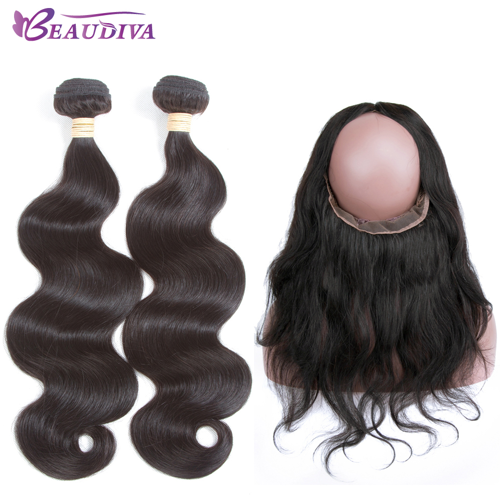 Used Beaudiva Pre Colored Human Hair Weave Body Wave Bundles With
