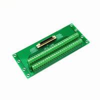 MDR SCSI 50 P Female Breakout Board  SCSI Módulo Do Terminal.