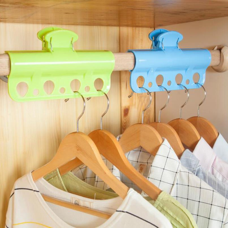 Doreen Box 19.5x12cm Big Clip Clothes Pegs Wardrobe Storage Racks Laundry Windproof Clips for Drying Clothes Quilt Bed Sheet 1PC