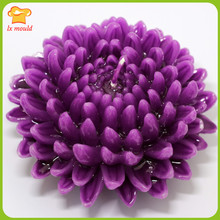 DIY candles of large chrysanthemum silicone soap molud silicone handmade soap salt ice sculptures carved chocolate mould