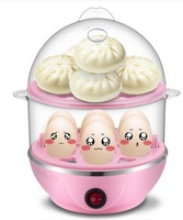 Household multifunction double boiled egg Stainless steel mini egg Egg automatic power off