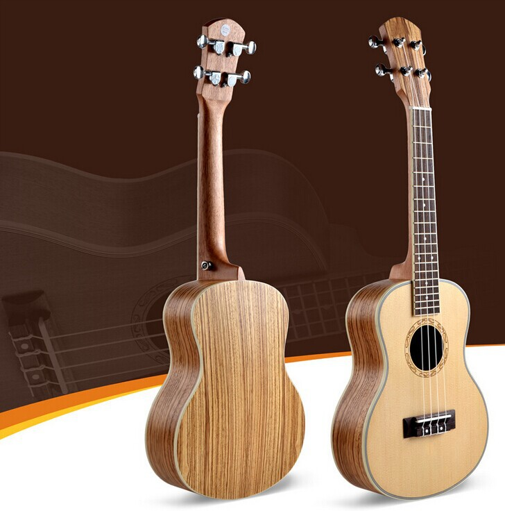 free shipping 26 inch tenor ukulele 4 string uke acoustic guitar small instrument ukelele. Black Bedroom Furniture Sets. Home Design Ideas