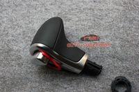 Chrome Leather Gear shift Knob For AUDI A3 A4 A5 A6 Q7 Q5 2009 2010 2011 2012