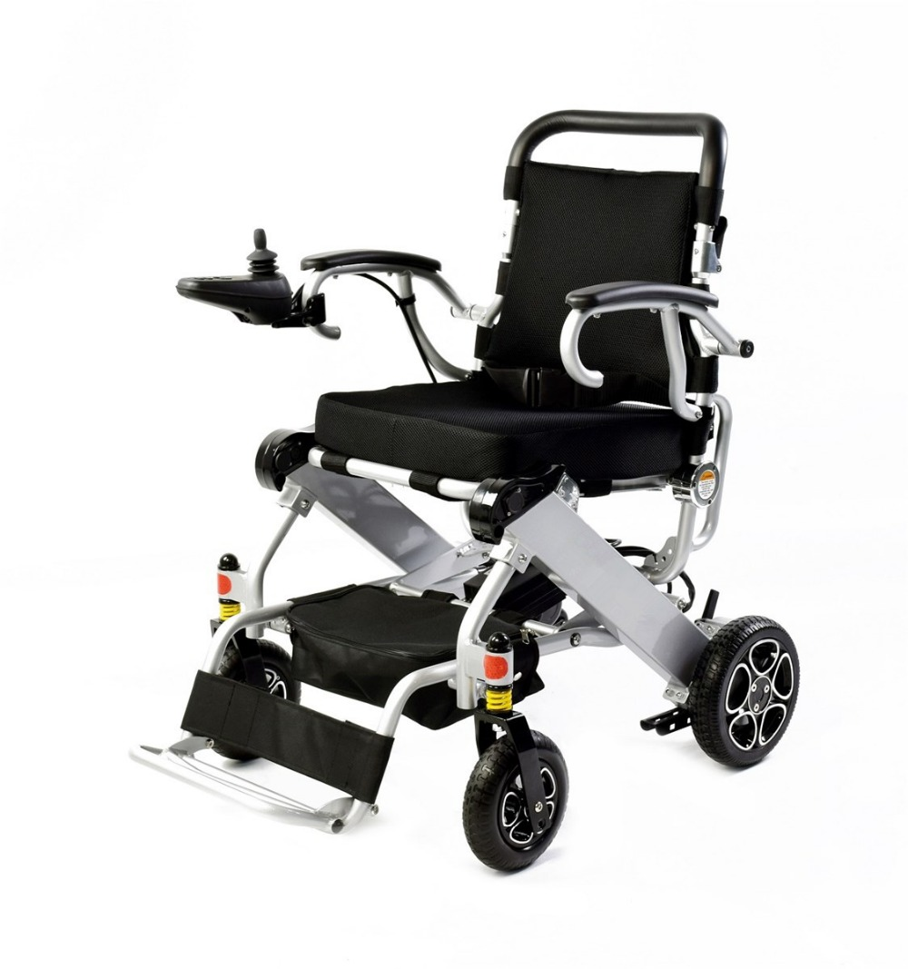 все цены на 2018 Hot sell folding lightweight electric wheelchair with CE and FDA certificates онлайн