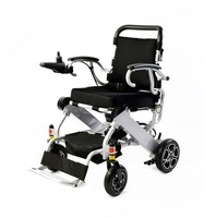 2018 Hot sell folding lightweight electric wheelchair with CE and FDA certificates