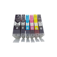 570 571 PGI 570 CLI 571 Compatible Ink Cartridge For Canon PIXMA MG5750 MG5751 MG5752 MG5753