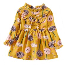 Baby Dresses Full Sleeve Baby Girls Clothes Autumn Princess Girls Dress Kids Clothes Children Party Princess Dresses