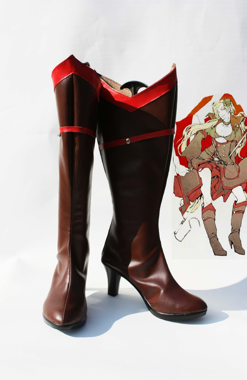 Dámské boty z Axis Powers vyrobené na zakázku Hetalia Cosplay