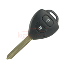 Remote key 2 button 434Mhz toy47 with 4D70 chip for Toyota Auris Corolla Verso Yaris 2010 2011 kigoauto