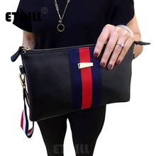 Red Blue Stripe Bag Ladies Party Designer Envelope Clutch Bag Evening Shoulder Bags Blue Womens Luxury Brand Clutch Bags Handbag