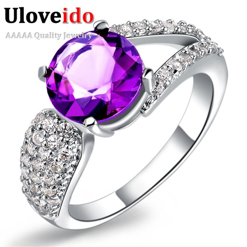 Aliexpress.com : Buy Uloveido Wedding Rings for Women ...