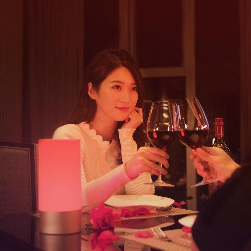 Image 3 - Xiao mi jia mi Yeelight стол для ночника умный крытый свет 16 миллион цветов bluetooth с сенсорным управлением Wifi для mi home APP-in Умный пульт управления from Бытовая электроника