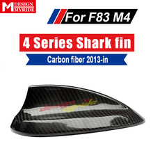 For F83 Shark Fin Carbon BMW  2-door Convertible M4 420i 428i 428ixD 430i 435i 440i Roof Antenna Cover 2015-in