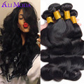 Brazilian Virgin Hair 3pcs/lot Ali Moda Hair Brazilian Body Wave 6A Unprocessed Human Hair Cheap Brazilian Virgin Hair Body Wave