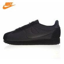 e5a8e1add6f Nike CLÁSSICO CORTEZ NYLON Dos Homens e das Mulheres Running Shoes