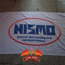 Nismo автомобиль гоночный Клуб Флаг, 90*150 см полиэстер баннер, флаг король