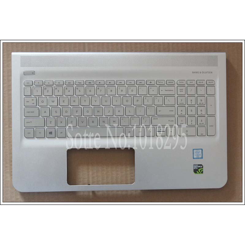 NEW US  for HP ENVY 15-ae000 15-ae015TX 15-ae016TX 15-ae020TX 15-ae018TX English silver  laptop keyboard With backlight new russian for hp envy x2 11 g000 g003tu tpn p104 hstnn ib4c c shell ru laptop keyboard with a bottom shell