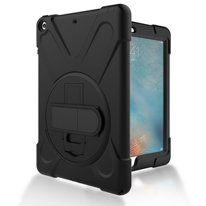 Image 3 - For iPad Air 1 Case Heavy Duty Shockproof Hand Strap Cover For ipad 5 A1474 A1475 Kickstand Hybrid Kids Safe Armor Tablet Cases
