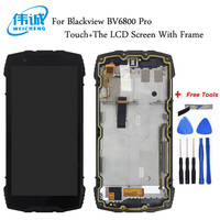 WEICHENG For Blackview BV6800 Pro LCD Display + Touch Screen 100% Screen Digitizer Assembly With Frame+Tools