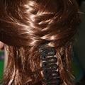 1 UNID Baby Girl Accesorios Para El Cabello Herramienta Para Tejer la Trenza de Las Mujeres señora Hair Braiding Trenzadora Herramienta de Rodillo Con la Torcedura Del Pelo Peinado fabricante