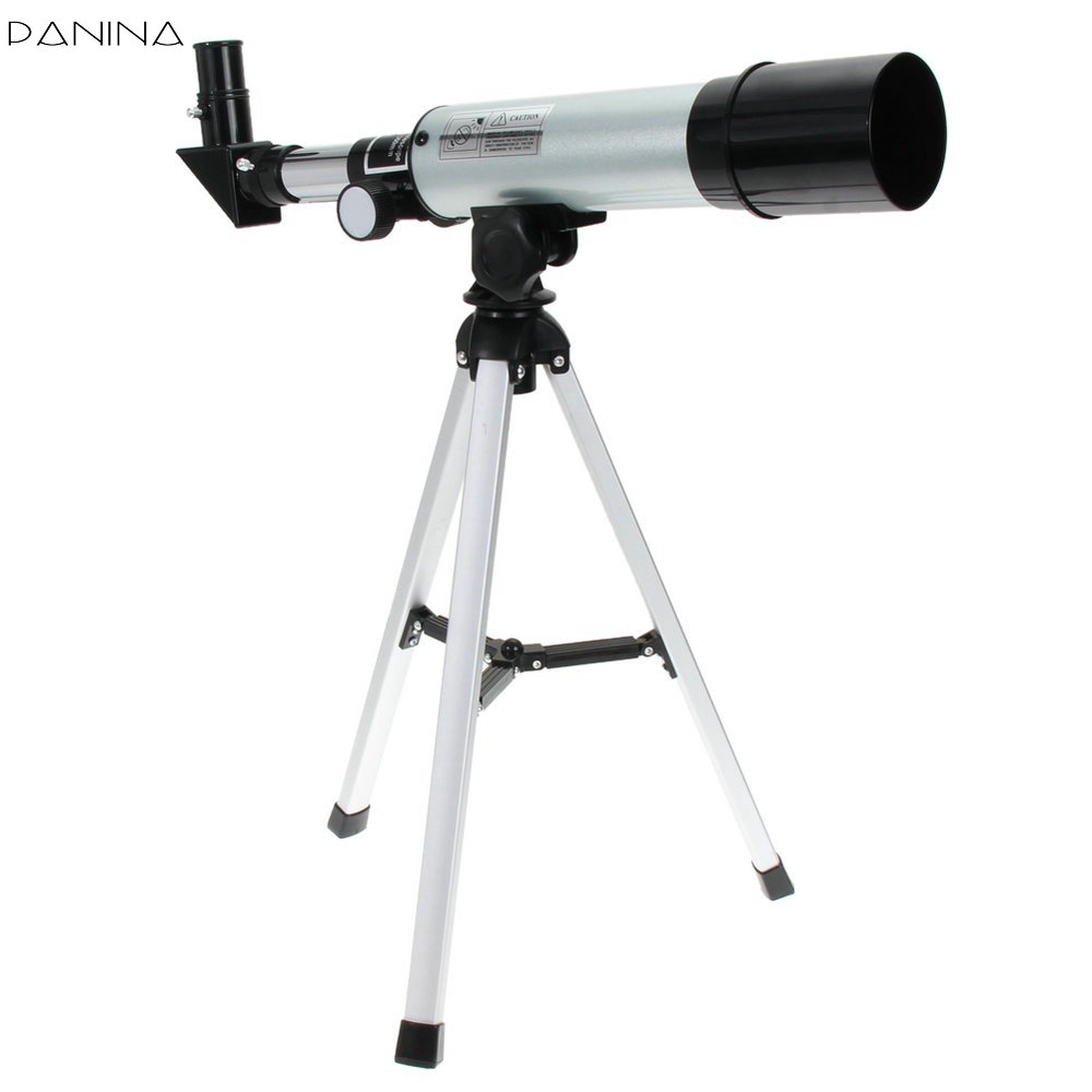 F36050M 360/50mm Refractive Astronomical Telescope with Portable Tripod Spotting Scope Outdoor Monocular Astronomical Telescopes quality zooming outdoor monocular space astronomical telescope with portable tripod spotting scope 700 60mm telescope