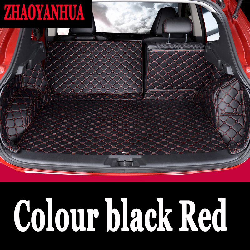 Custom car trunk mats fit All Models for MG <font><b>3</b></font> 5 6 <font><b>7</b></font> 3SW Fiat <font><b>500</b></font> Bravo Viaggio Freemont Ottimo styling trunk mats image