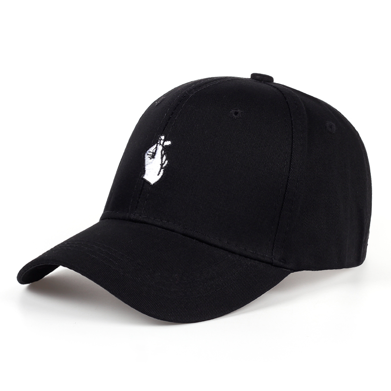 TUNICA Fashion cotton hat love finger quick reply hip hop hat man woman adjustable adult hat embroidery   baseball     cap   wholesale