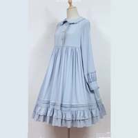 Rose Marry Classic Lolita Dress Long Sleeve Midi Dress by Soufflesong ~ Pre order
