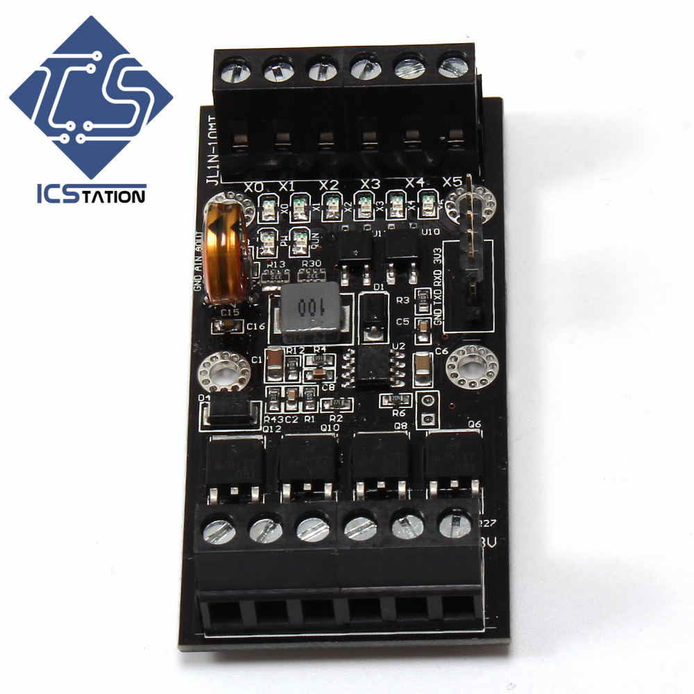 FX1N_10MT 36*73*20mm DC10-28V 32Bit High Speed ARM Programmable Controller Relay Module chip lqfp32 stm32f030k6t6 patch 32 bit arm micro controller